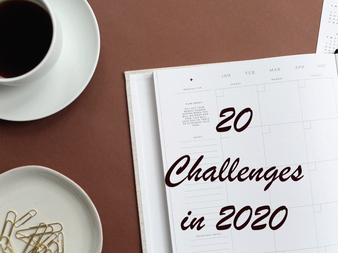 20 Challenges in 2020